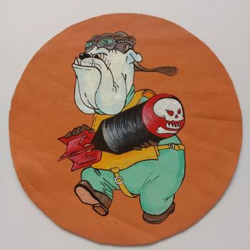Marine Scout Bomber Squadron 344 Patch